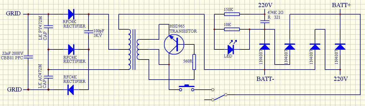 bug zapper schematic hair dryer schematic