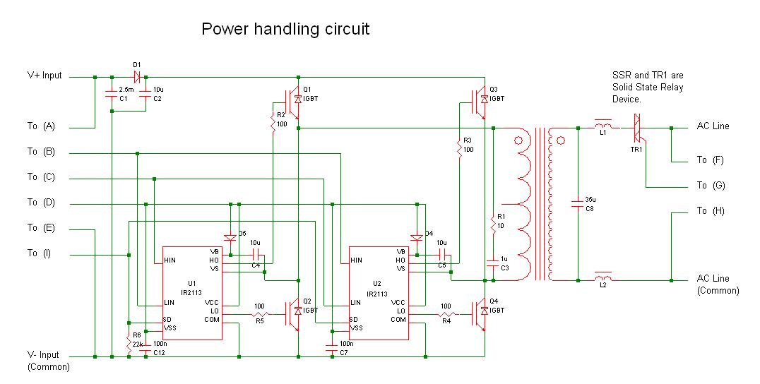 grid tie inverter connection diagram grid image grid tie inverter schematic 2 0 electronics forum circuits on grid tie inverter connection diagram