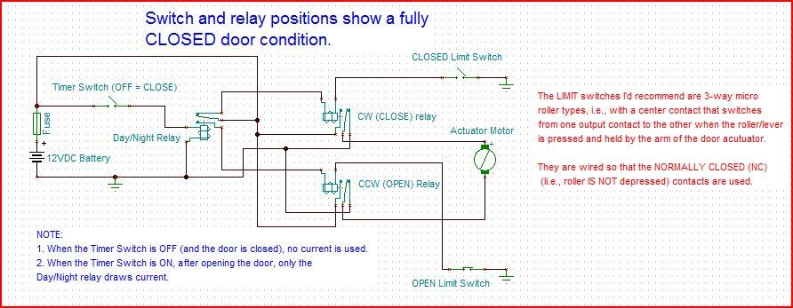 automatic chicken door opener circuit 2
