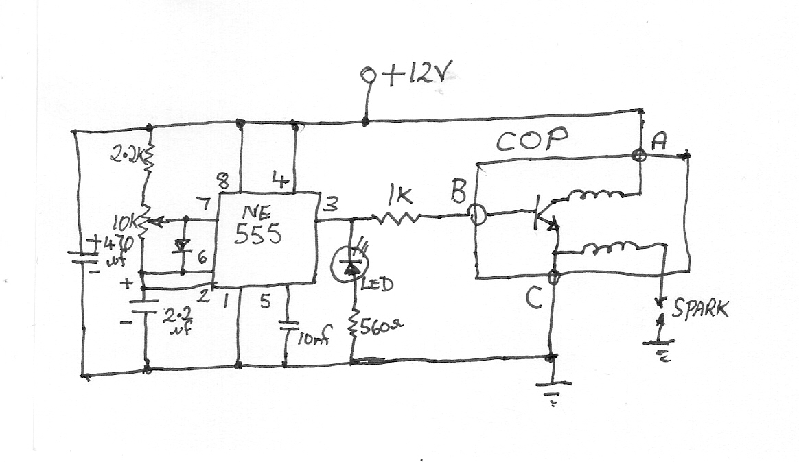 model t buzz coil ignition from coil on plug module electronics buzz coil wiring diagram at panicattacktreatment.co