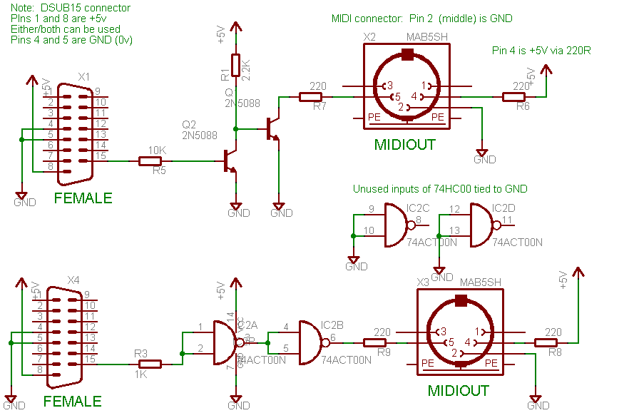 evolution mk 7 midi keyboard electronics forum (circuits 15 pin gameport to usb wiring diagram at webbmarketing.co