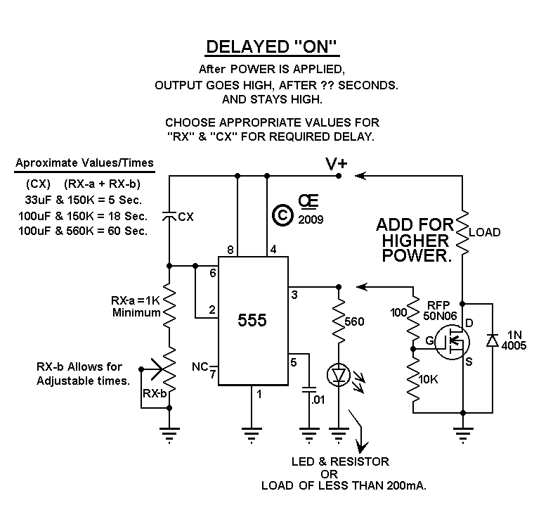 simple 555 timer delay on not working on ltspice page 1 delay on make timer wiring diagram at readyjetset.co