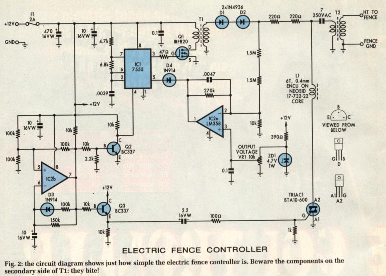 need help for developing an electric fencing for my farm electric fence wiring schematic at n-0.co