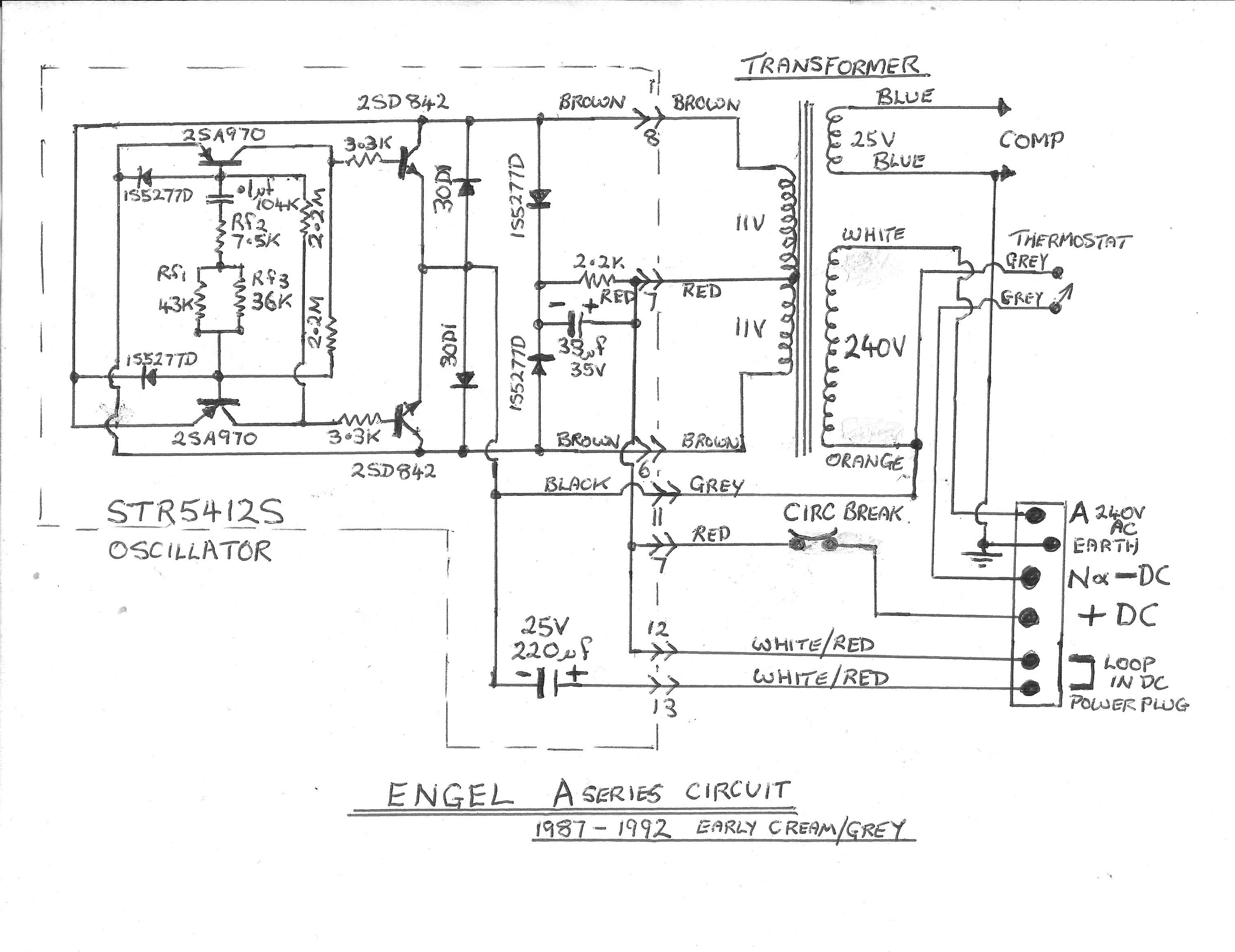 mrft540a engel fridge electronics forum (circuits, projects and engel fridge wiring diagram at n-0.co