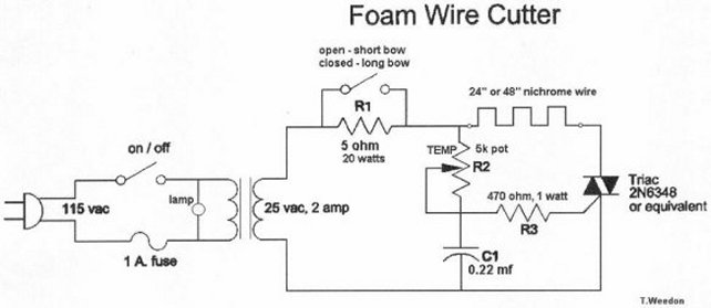 foam wire cutter power supply electronics forum (circuits powerstat variable autotransformer wiring diagram at webbmarketing.co