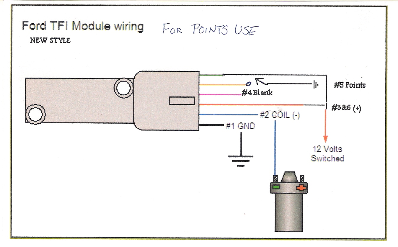 blowing transistor on igntion module electronics forum (circuits ford tfi wiring schematic at crackthecode.co