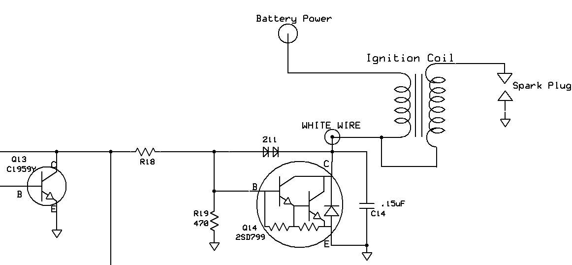 igniter with two diodes in series electronics forum (circuits kokusan denki cdi wiring diagram at highcare.asia