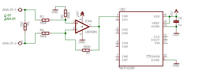 possible 4 20ma to 1 5v conversion problem electronics forum input jpg