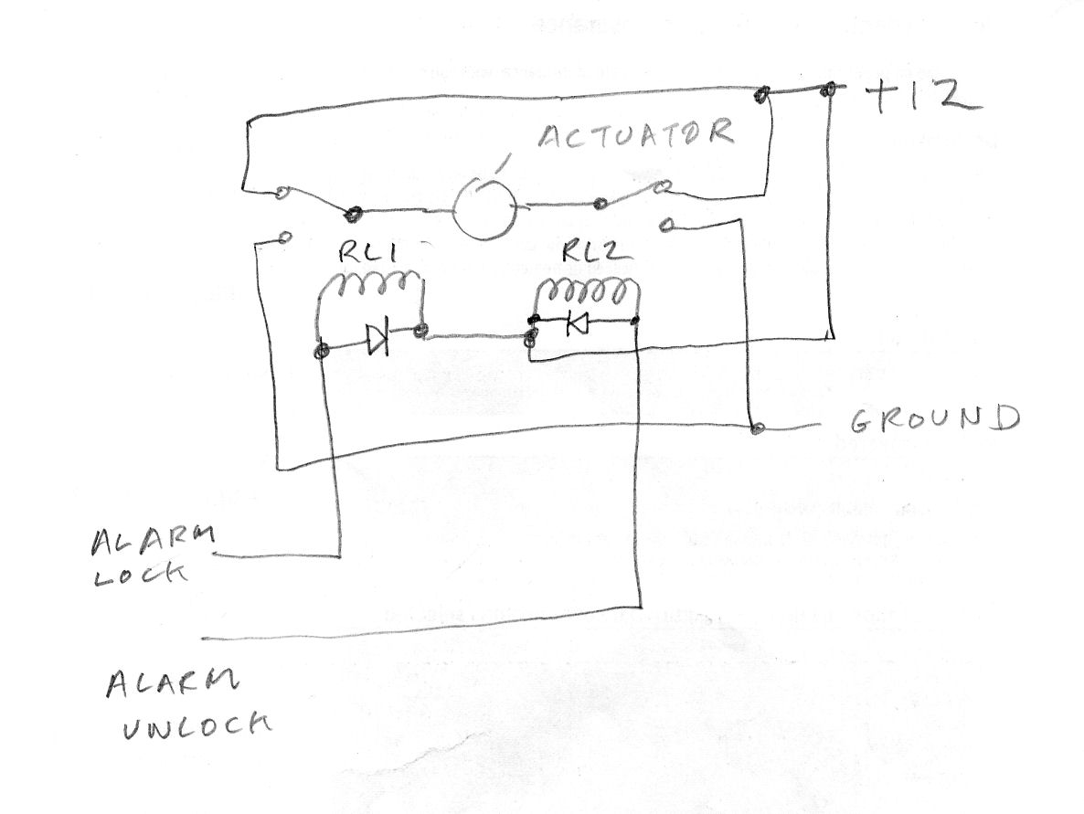 my central lock alarm system does not work electronics forum 5 wire central locking actuator wiring diagram at mifinder.co