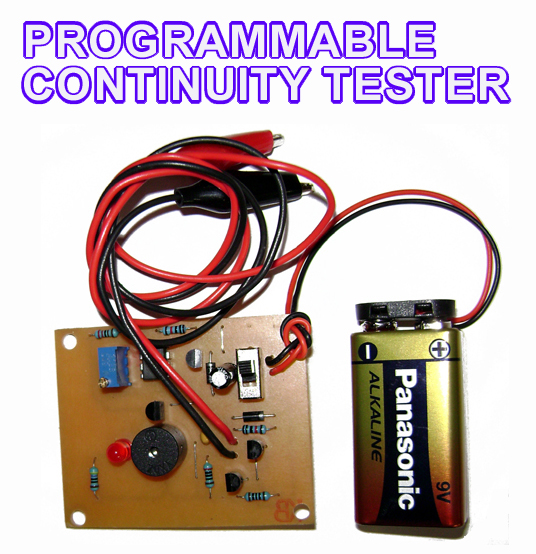 Programmable Continuity Tester to Build   Electronics Forum