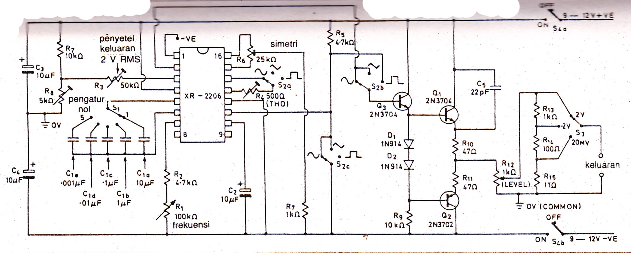 XR2206 Signal Generator | Electronics Forum (Circuits, Projects ...