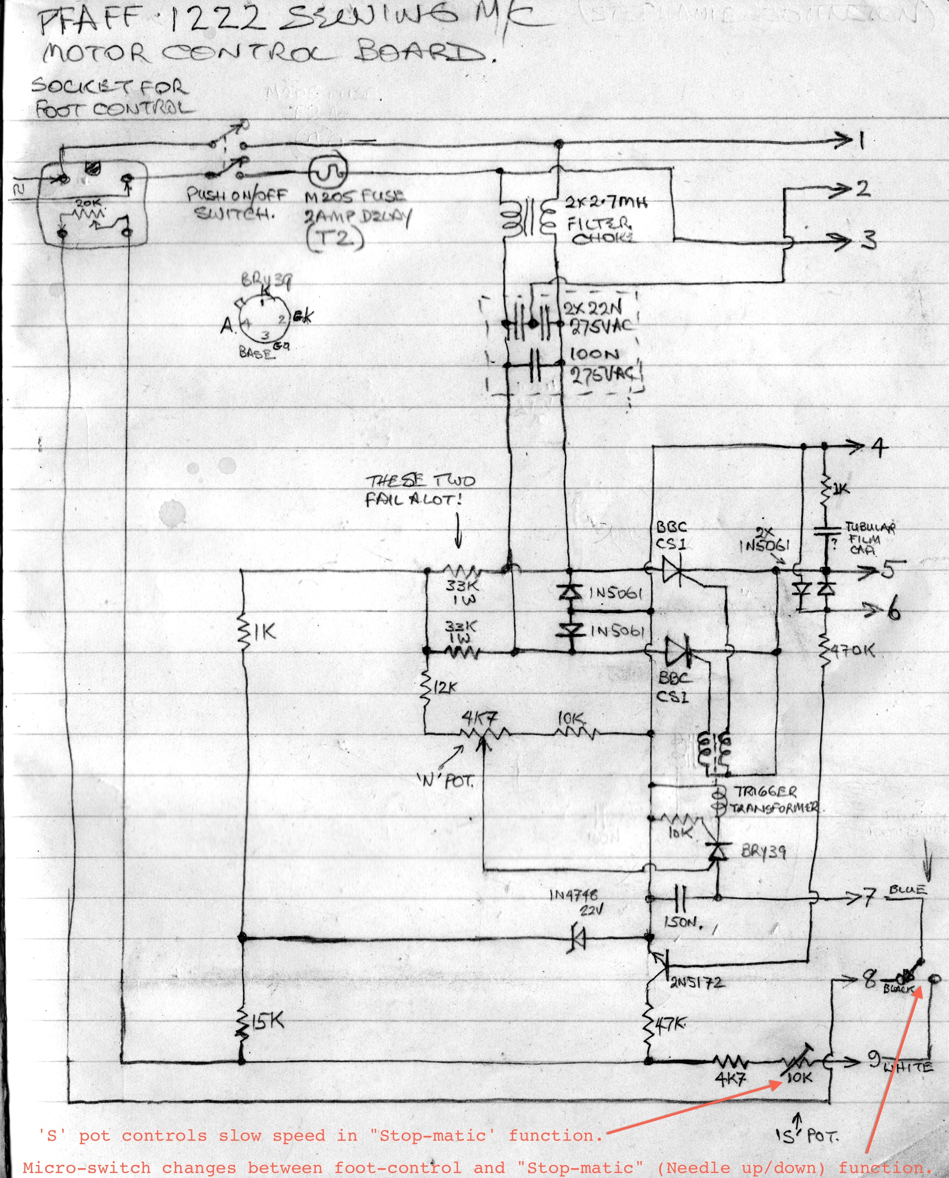 is this a three leg capacitor? page 3 electronics forum singer sewing machine wiring diagram at gsmportal.co