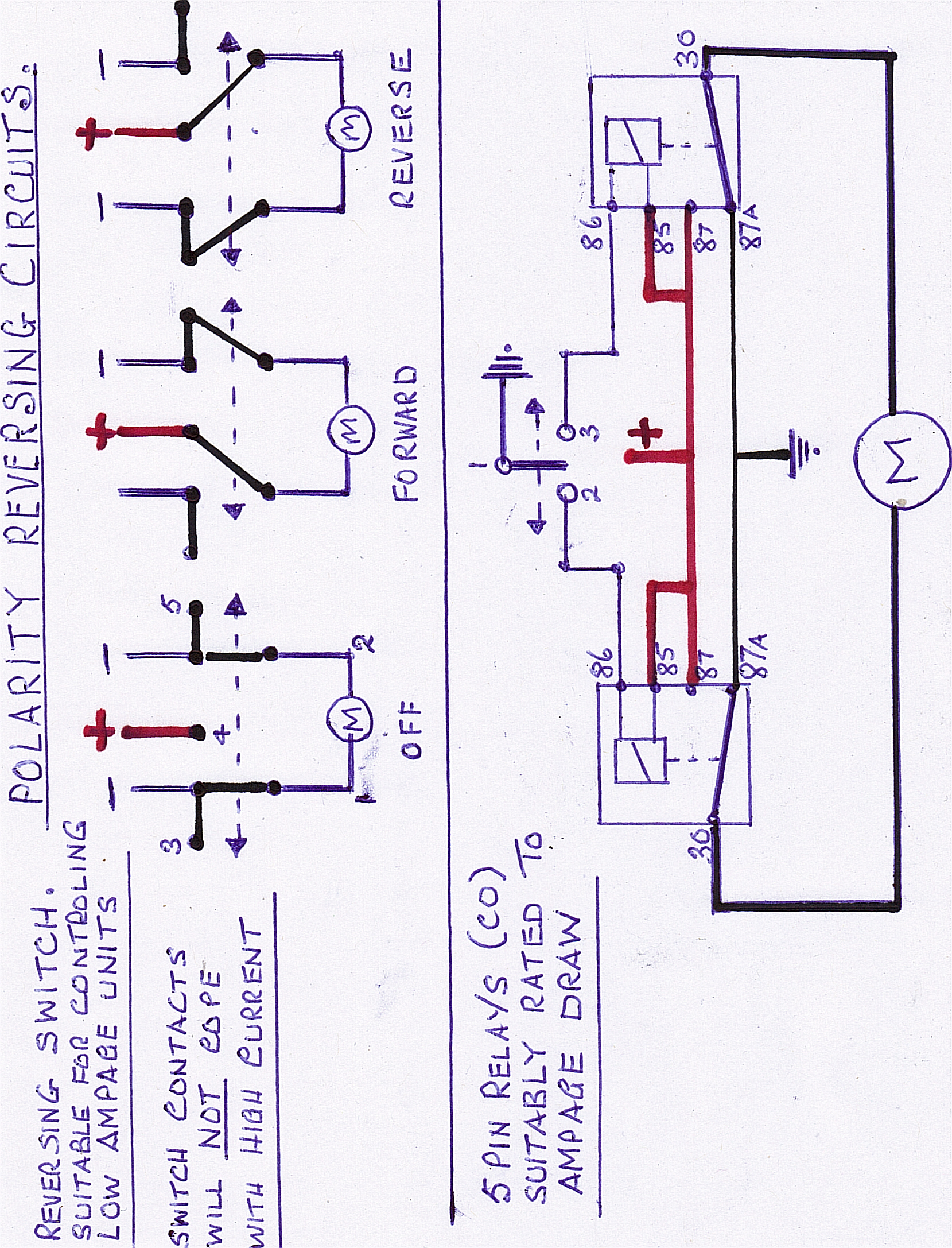 12 volt wiring diagram for reversing switches shore power wiring diagram elsavadorla