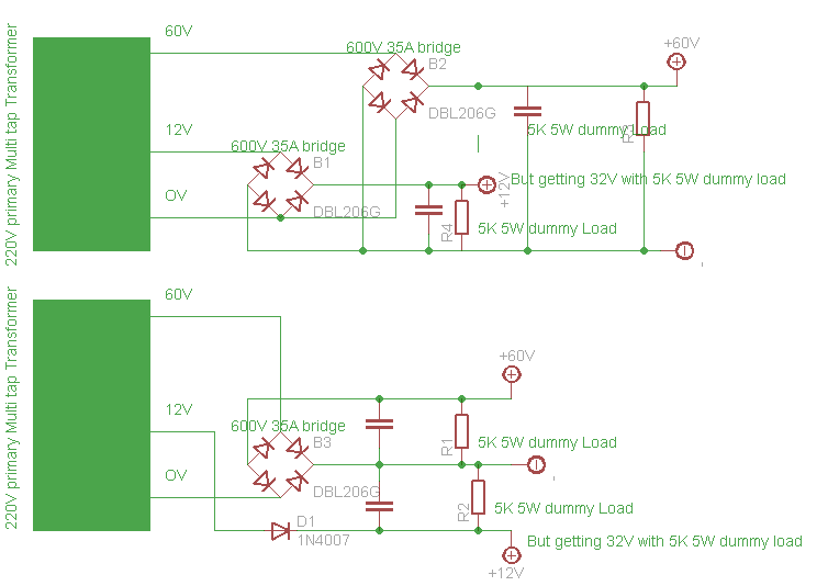 multi tap transformer wiring question electronics forum sch1 png