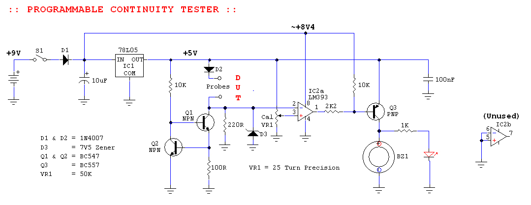 Programmable continuity tester to build electronics forum pcb see attached for pdf 100 size to print from laser printer ccuart Choice Image