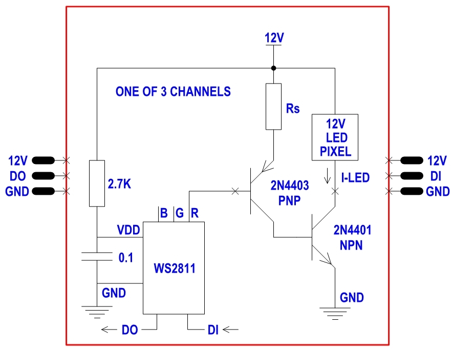 converting 12v dumb rgb lights to intelligent nodes (ws2811) 20ma ws2811 wiring diagram at crackthecode.co