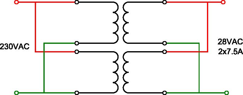 paralleling toroidal transformers electronics forum circuits toroidal1 png