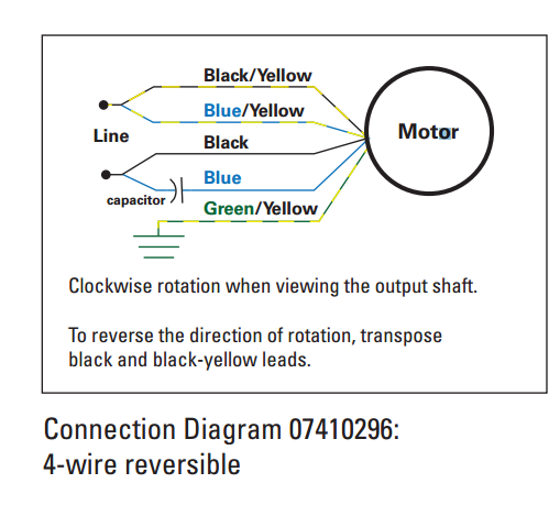 electric motor setup for 1rpm electronics forum (circuits Motor Connection Diagram at gsmportal.co