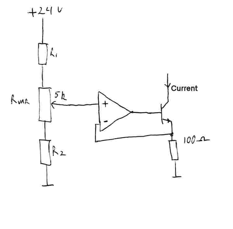schematic to build a 4ma 20ma supply electronics forum circuits variablecurrentopamp2 jpg