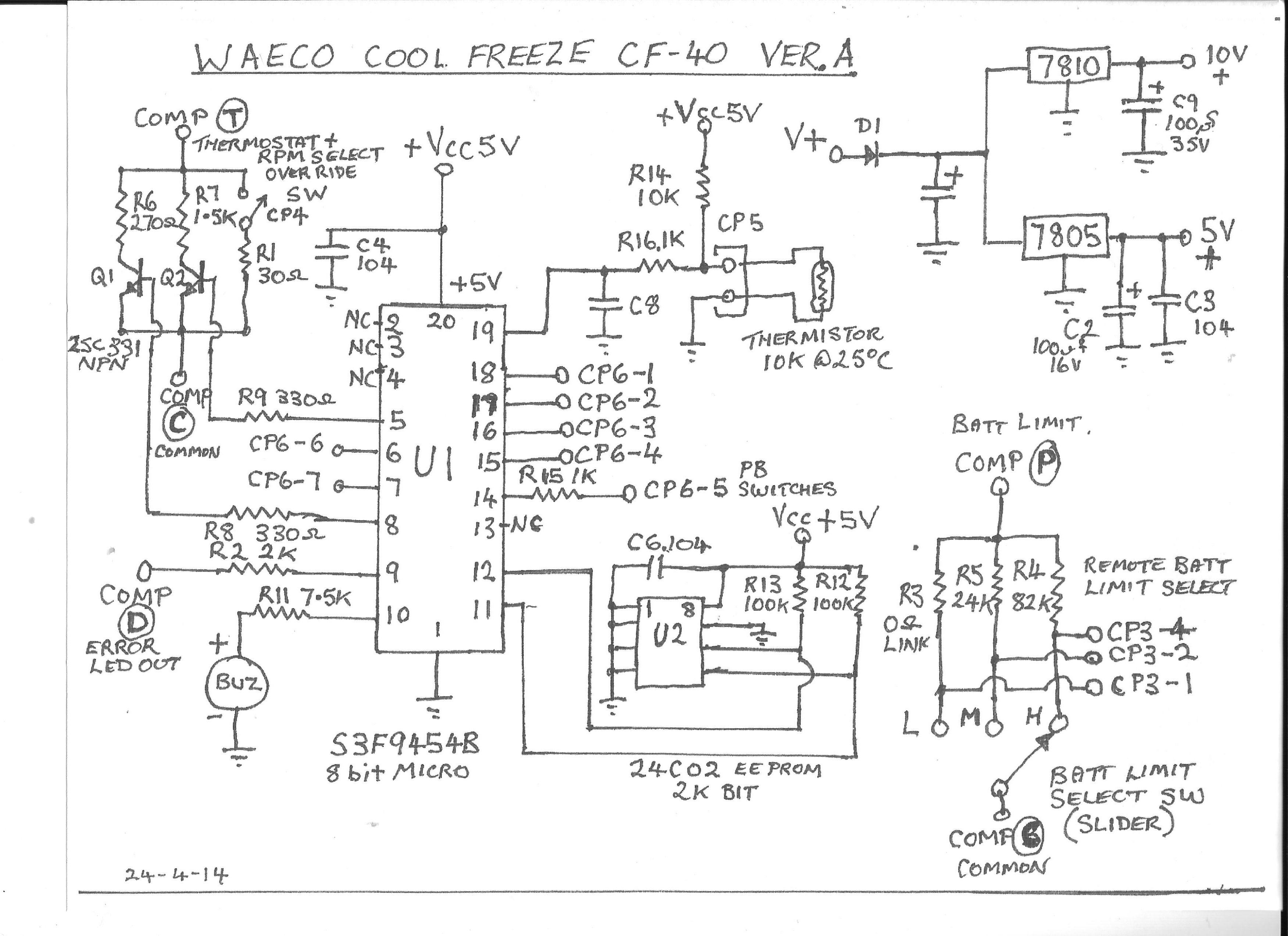 WAECO CF-40 Ver A Main circ board..jpg