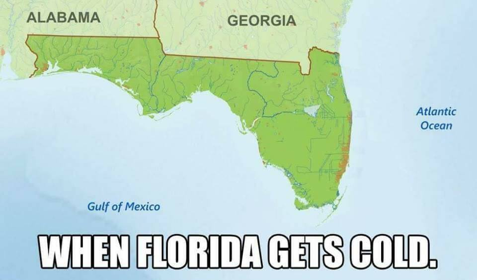 When Florida gets cold.jpg