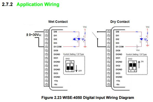 npn sensor used as dry contact for sensing device? electronics dry contact wiring diagram at bakdesigns.co
