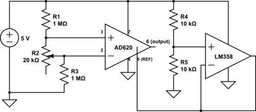 Help with AD620 / load cell circuit   Electronics Forum (Circuits ...